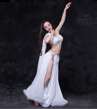 QC2683 Wuchieal Silk Woman Belly Dance Costume