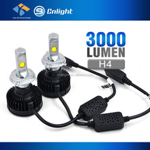 Original Imported chip LED 35W 8000 lumen H4 Car LED Lighting replace h4 halogen lamp