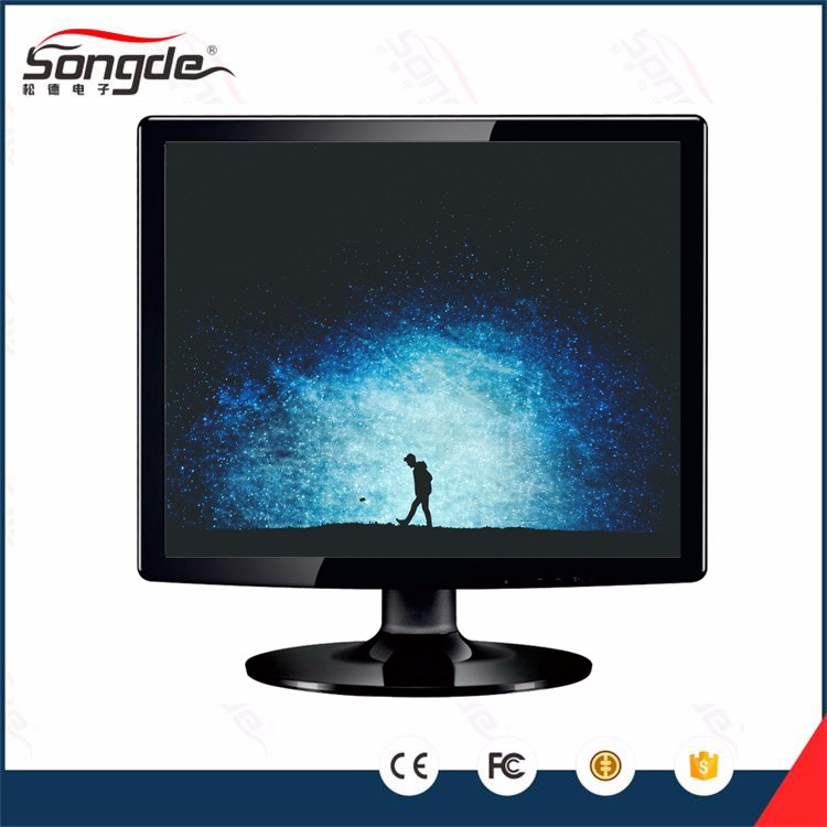 Factory wholesale 15''/17''/19'' inch lcd monitor, pc monitor with vga port