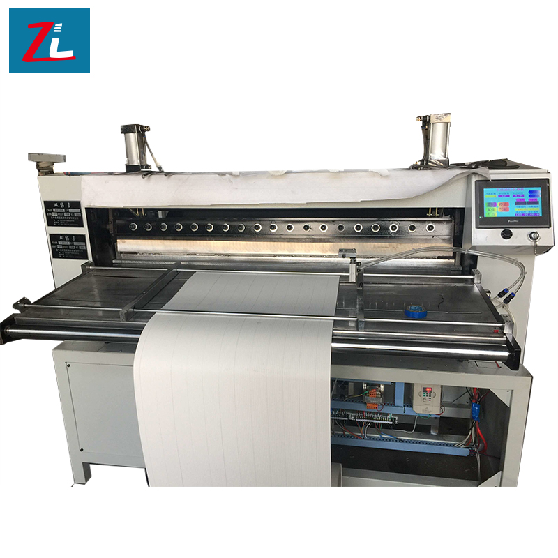 used pleating machine for air filter