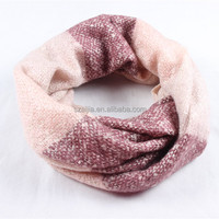 Ladies winter fux cashmere ladies confetti winter infinity scarf