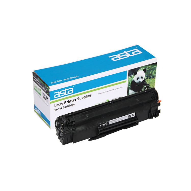 Asta toner 285a compatible toner cartridge 85a empty toner cartridge 285a for hp