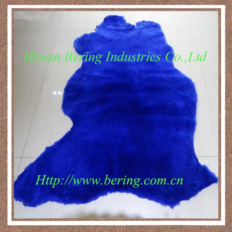 2016 wholesale single face sheepskin leather use to shoe lining, rugs, garment collar