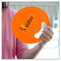 Promotion Pp Hand Held Fan Custom