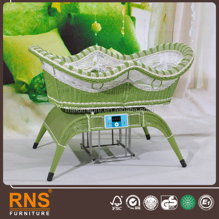 Automatic Baby Electric Swing Bed,Baby Electric Rocker Chair with Mosquito Net