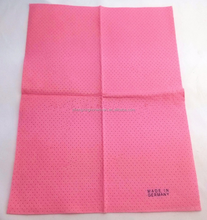 Super water and oil absorbent needle punched nonwoven all purpose cleaning cloth