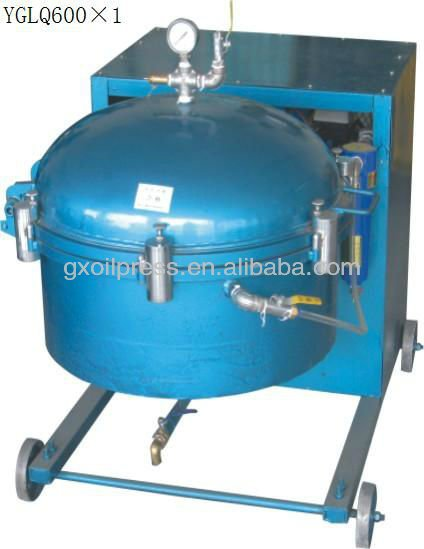 high efficiency air pressure filter to purify crude oil