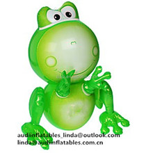 New!! Customized Plastic Inflatable Frog Cartoon Model Inflatable Water Pool Toys