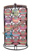 Holds 30 Kcups coffee display rack