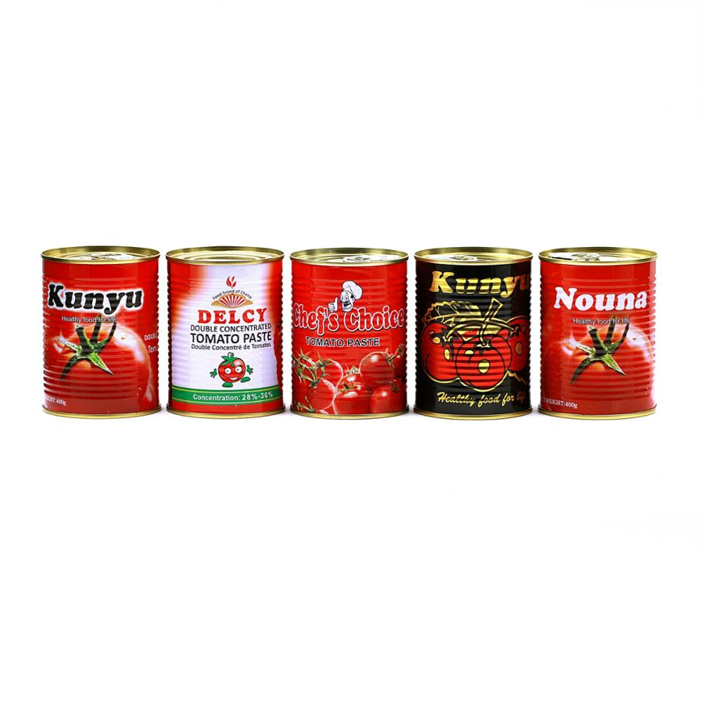 canned tomato paste supplier
