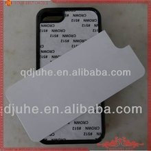 Sublimation TPU mobile phone case for iphone 5c with heat transfer printing