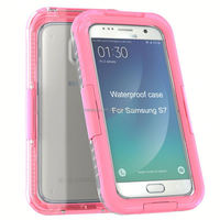 For Samsung s7 Love Mei Shockproof Waterproof Rugged Gorilla Metal Mobile Phone accessories