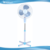 16 Inch PP Plastic Blades Timer National Stand Fan