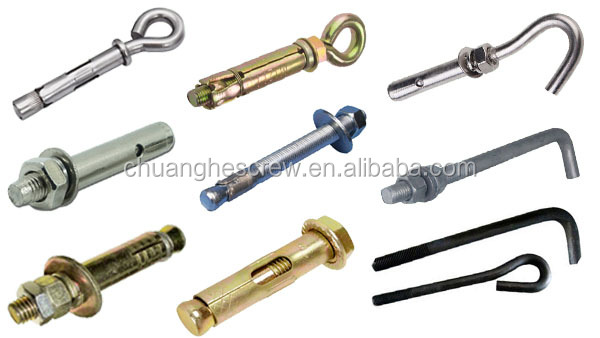 New Product Plastic Anchor Wall Plug Expansion Anchor Bolt