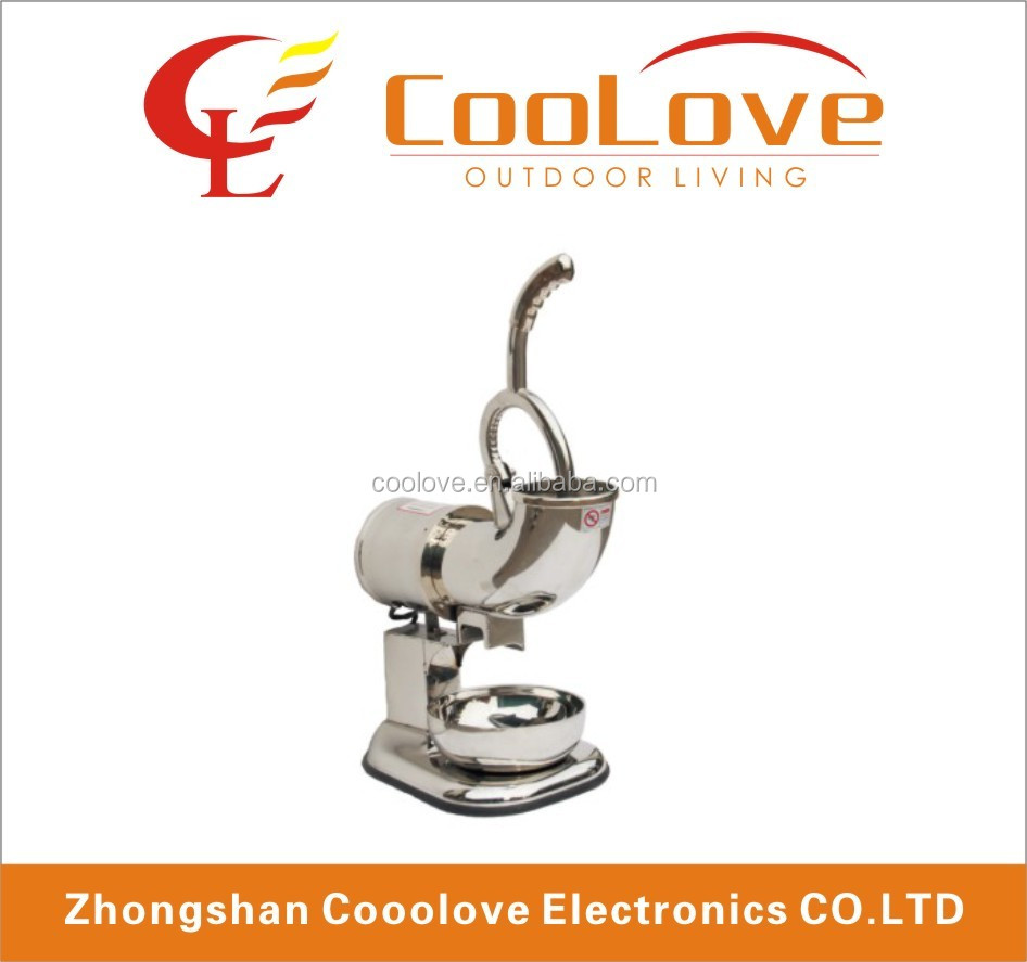 Commercial Heavy Duty steel Snow Cone shaved ice maker machine