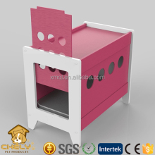 Modern wood pet dog bed,cat bed, cat house customized with sliding door for wholesale