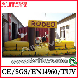 inflatable mechanical bull inflatable sport games inflatable rodeo bull