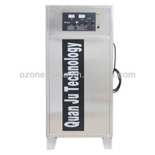 Bulk drinking water disinfection, Ozone for pure water sterilization