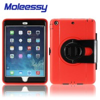 Mul-function Layer Pc+Tpu Defender Case For ipad mini 123