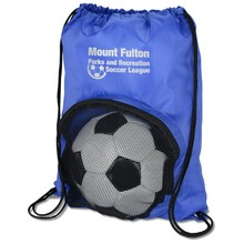 Top Quality Promotional Custom Cute Soccer Drawstring Bag