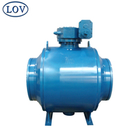 High Pressure Gear Operated Trunnion Mounted Fully Welded Ball Valve