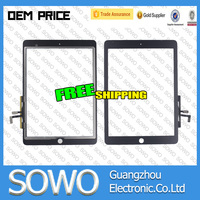 For iPad Air 5 5th Touch Screen Digitizer + Home Button + Flex Adhesive Assembly