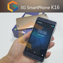 Shenzhen Mobile Phone 16GB K16 5.5 inch 3G WCDMA 4G Lte Cheap Cell Phone