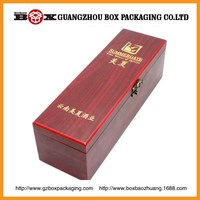 High Class Fashion Wooden Wine Bottle Carrier For Gift Wine Packaging