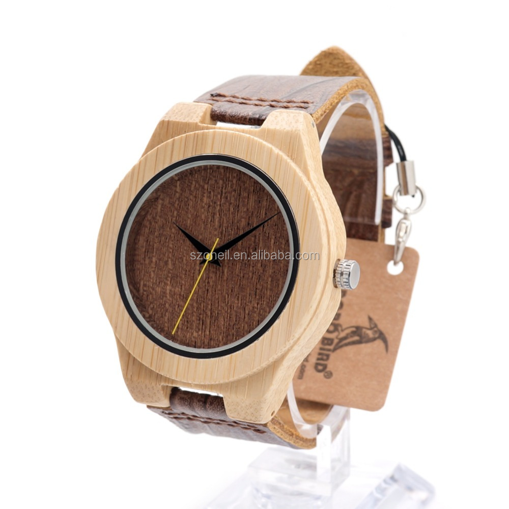 2017 hot high quality OEM customized logo men and woman wooden waterproof new watch