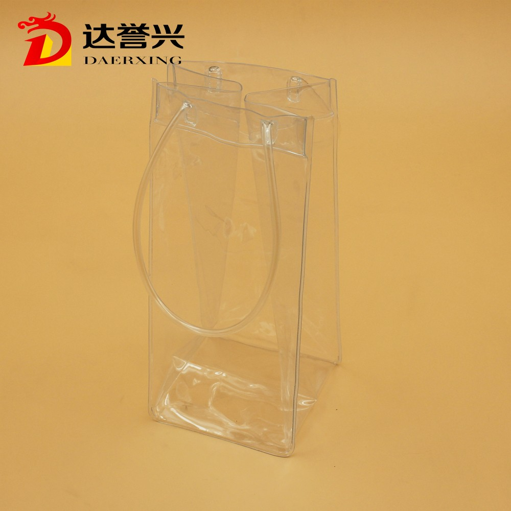THE PERFECT WATER CARRIER PVC PLASTIC BAG WITH A SECURE LOOP HANDLE