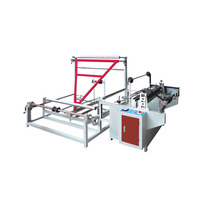 Triangle plastic film folding winding machine