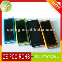 Sungzu Emergency Solar Charger MobilePhone /MP3/MP4/PSP& Smartphone Solar Charger For IPhone4G/4GS