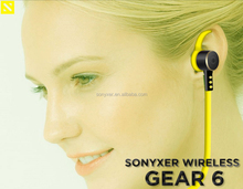 Sonyxer Wearable Sweat Resistant Sport Wireless Bluetooth for headphone free sample , accept earphone oem