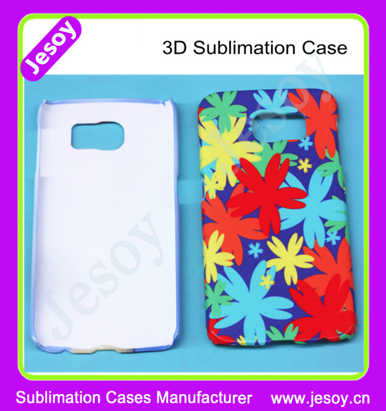 JESOY Wholesale Factory Price Customized Made Cellphone Case Cover 3D For Samsung galaxy discover