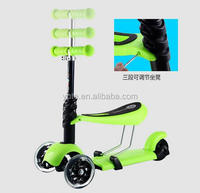 Factory direct supply kids 2 wheel kick scooter /scooter kids new model / widen pedal cheap kids scooter