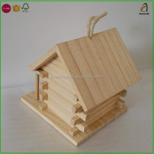 Solid Wood Traditional Decorative Wood Bird house