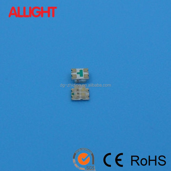 High quality two color 0605 red blue components led smd