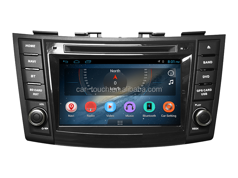 Pure android 6.0 7inch IN DASH CAR STEREO for Suzuki Swift 2011- 2013 Support BT+Smart Phone+TPMS+Wifi+3G+Radio+BT+16G