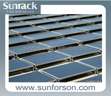 Popularl mounting solar kit for roof and ground