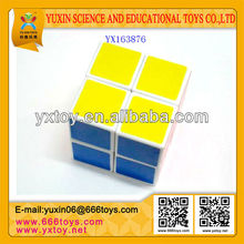 2 layer plastic magic cubes puzzle 2x2