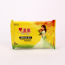 10pcs wet face wipe jasmine scented wet paper napkin