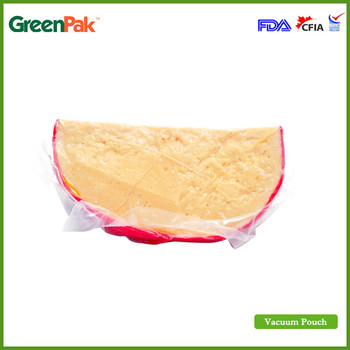 PA/PE vacuum pouches for cheese storage packaging