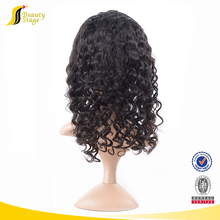 Factory direct sale afro kinky curly 100 human hair wig,full stock indian temple hair full lace wig,available latex wigs