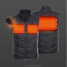 Far Infrared carbon fiber electric heating jacket for hunting
