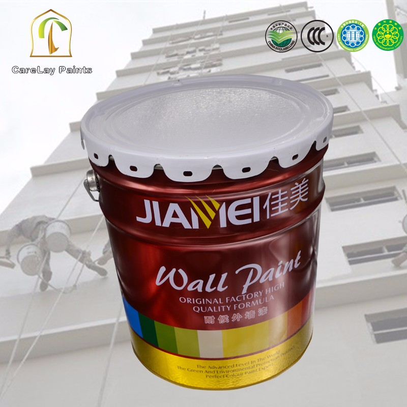 Weather resistant texture paint for exterior wall