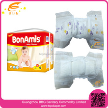 Premium quality diapers baby products soft and dry cloth-like cotton disposable baby diapers
