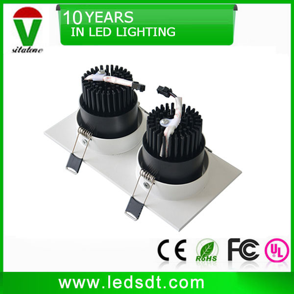 20w 30w rectangular led downlight