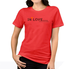 2017 korea character romantic women t-shirt