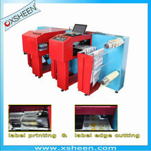 sticker printing cutting machine, sticker cutting and printing machine