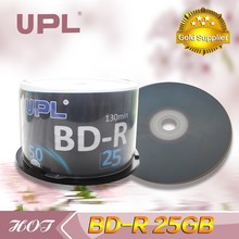 2017 cheap price BD-R bluray disc 25GB with 4X